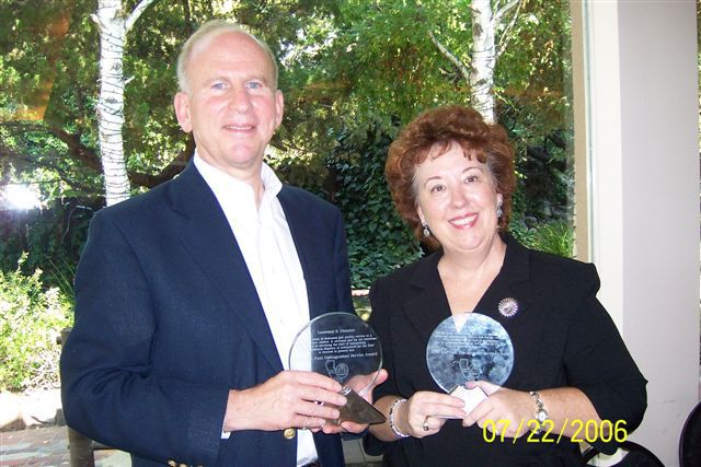 """2006 Lou Fant Distinguished Service Award"" from the Southern California Registry of Interpreters for the Deaf"